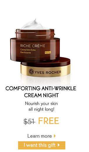 COMFORTING ANTI-WRINKLE CREAM NIGHT