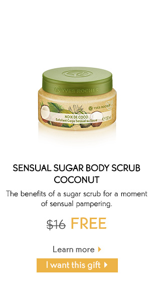 SENSUAL SUGAR BODY SCRUB COCONUT